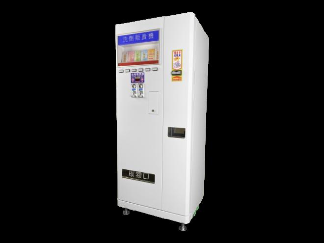 KE-37E 兌幣+六道式販賣機_側面圖